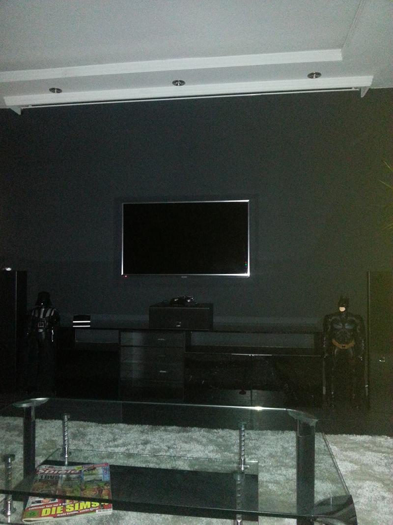 mein neues heimkino wohnzimmer - hobbykeller - kodinerds